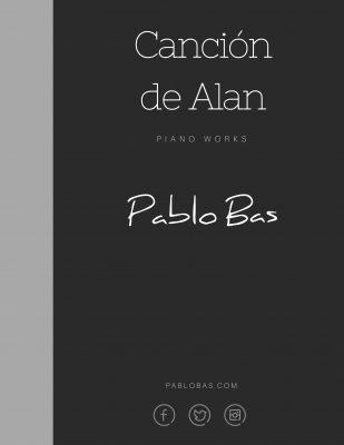 Canción de cuna para alan, piano works pablo bas