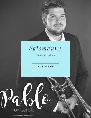 Palomaune obra para trombón de Pablo Bas música para trombón en pdf
